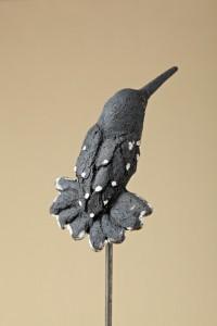Colibri noir,h 10cm